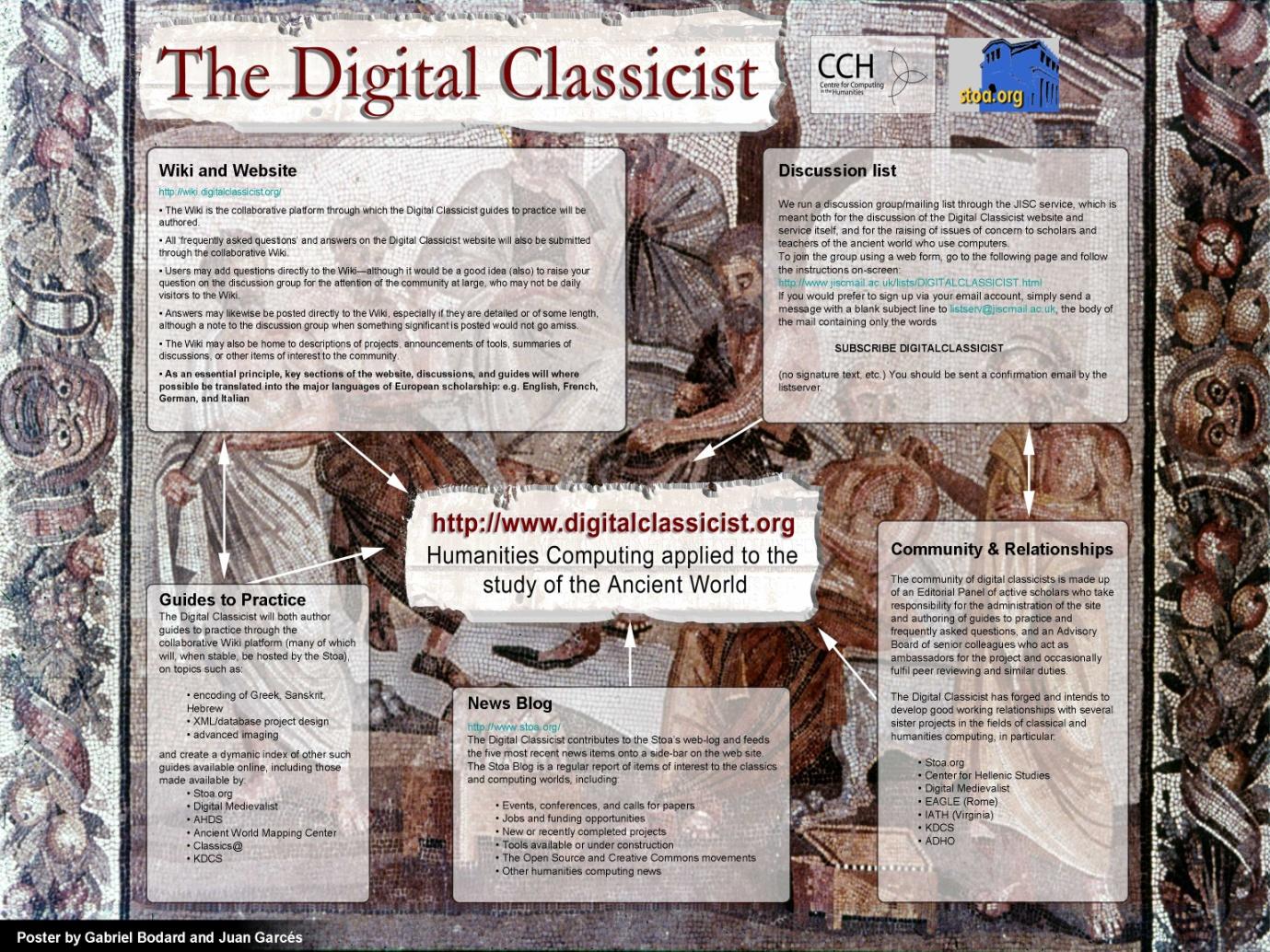 DHQ: Digital Humanities Quarterly: The Digital Classicist: building