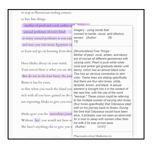 How to annotate html for essay writing