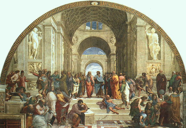 raphael sanzio school of athens analysis essay